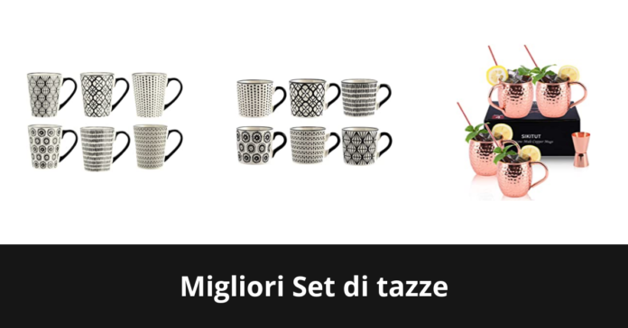 Set di tazze