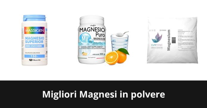 Magnesi in polvere