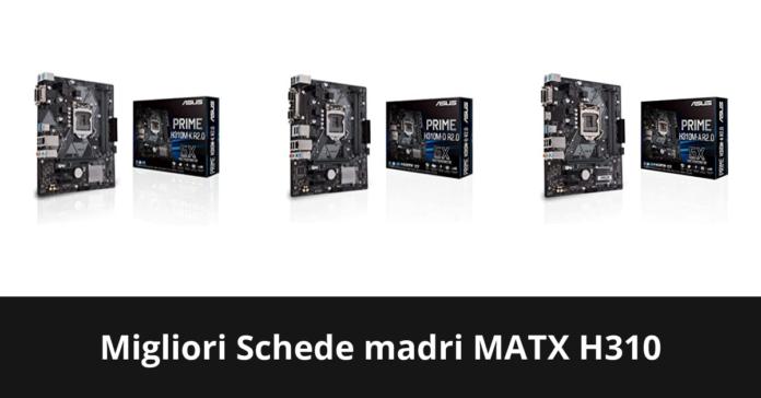 Schede madri MATX H310