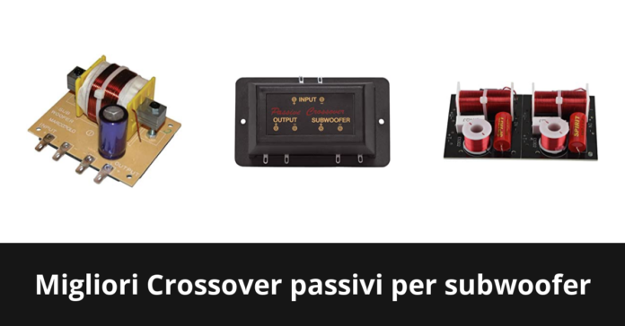 Crossover passivi per subwoofer