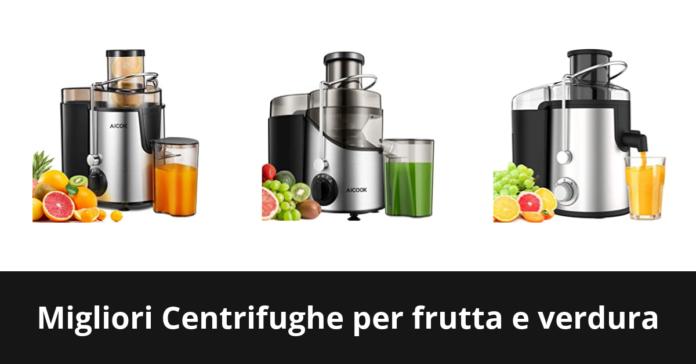 Centrifughe per frutta e verdura