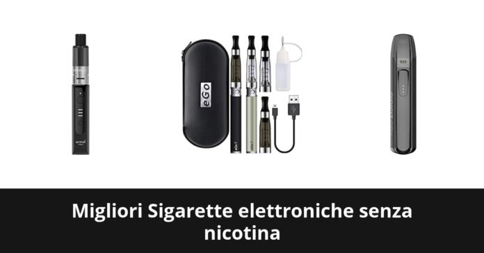 Sigarette elettroniche senza nicotina