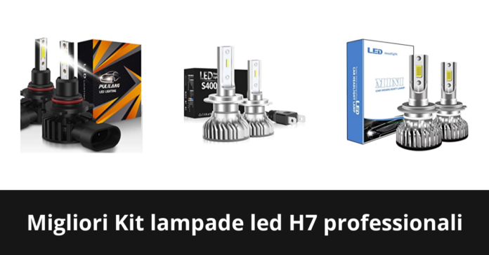 Kit lampade led H7 professionali